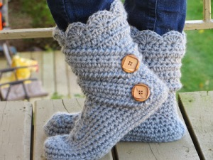 Classic Boots Crochet pattern